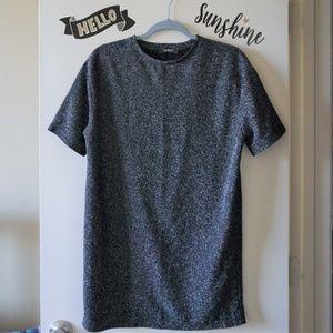 Zara Boxy Batwing Sleeves Shift T-shirt Dress S